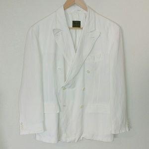 BOSS Hugo Boss Linen Double Breasted Sportcoat